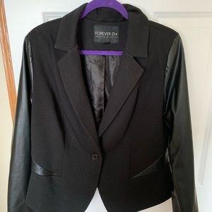 Forever 21 black blazer | size 2X